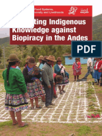+++Protecting Indigenous Knowledge against biopiracy in the andes.pdf