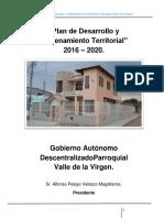 0968563500001_actualizacion Del Pdyot- Diagnostico - Propuesta - Modelo de Gestion- Parroquia Valle de La Virgen_30!10!2015!18!35-54