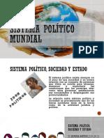 Sistema Político Mundial (desde el Pensamiento Social Cristiano)