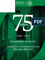 75 Años Ssa Busto Mtra Maza