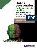 Datos Personales en Información Pública