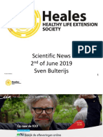 Scientific News 2nd of June 2019