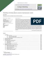 Ecological Modelling Volume 222 Issue 23-24 2011 [Doi 10.1016_j.ecolmodel.2011.10.004] Jay Willis -- Modelling Swimming Aquatic Animals in Hydrodynamic Models