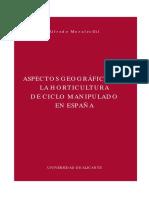 Agricultura - Aspectos Geográficos de La Horticultura de Ciclo Manipulado en España