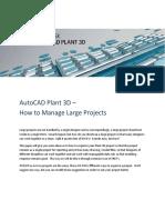 AutoCAD Plant 3D Large Projects.pdf