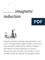 Electromagnetic Induction - Wikipedia