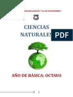 Ciencias Naturales Octavo