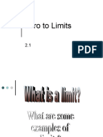 Intro to Limits