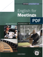 English for Meetings Book