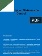 Actuadores Sistemas Control