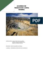 Acuerdo de Mineria
