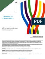 Guía Para Desarrollo Comunitario II