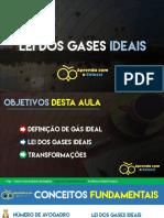 Lei Dos Gases Ideais
