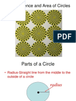 Circumference and Area of Circles