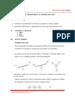 Práctica Experimental N° 03. Teorema de Lamy. Física de los Cuerpos Rígidos. Ciclo 2019 - I
