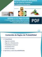 SEMANA 11-12 - Reglas de Probabilidad (1)