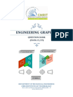 Engineering Graphics Question Bank