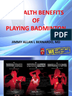 15 Health Benefits of Playing Badminton