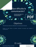 Exposicion de La Comunicacion