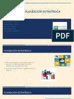 Investigación planeación estratégica