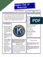 Kiwanis club of Waycross, June 2019