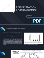 Fermentacion 2,3 Butanodiol