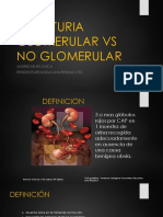 Hematuria Glomerular vs No Glomerular