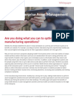 Mobile White Paper - Optimize Asset Management