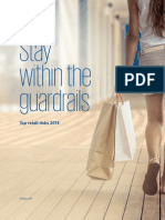 Stay Within the Guardrails Top Retail Risks 2018