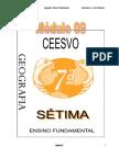 Apostila Ensino Fundamental  CEESVO - Geografia - Módulo 09