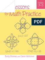 Minilessons for Math Practice G3-5