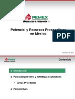 Pemex Potencial Recursos
