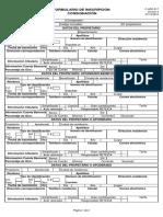 Formulario de Incripcion Consignacion