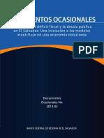 Evolución Del Déficit Fiscal y La Deuda Pública