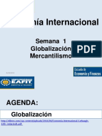 Mercantilismo - Semana 1 Economía Internacional Eafit