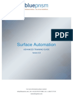 Surface Automation - Advanced Training