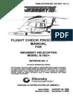 Fligth Check Procedures S-76C+