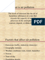 Air Pollution Class