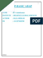 SBasic ABAP