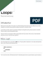 Loops - Bash Scripting Tutorial