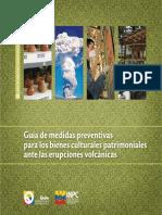 Bienes Culturales Patrimoniales - Guía de Medidas Preventivas ERUPCIONES