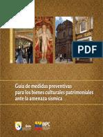 Bienes culturales muebles - Guía de Medidas Preventivas SISMOS