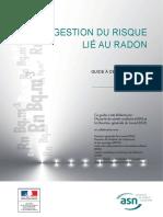Guide Pour La Gestion Du Risque Lie Au Radon a Destination Des Employeurs