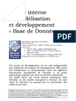 Norme de Developpement BD