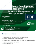 Process and Management of Strategic Alliances_Abbato & Young