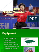 Ping Pong - Table Tennis Power Point Presentation