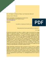 Elizondo - De Signis. Los origenes del signo como pensamiento inferencial.doc