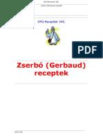 Zserbó (Gerbaud) Receptek.doc