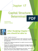 Chapter 17 - Yambao - Capital Structure Determination.ppt