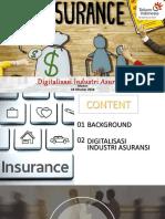 Materi Digitalisasi Asuransi Oktober 2018